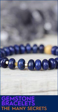The Many Secrets of Gemstone Bracelets #handmadebeadedbracelets #braceletshandmadediy #handcraftedbracelets #handmadebeads #paracordbracelet