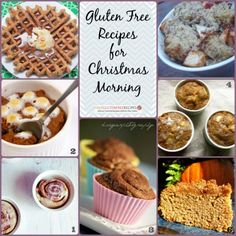 Cinnamon Collage Gluten Free Recipes for Christmas Morning