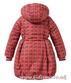 Oilily New 2013 Winter Collection - Claartje Parka - Grafic Flower