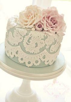 Vintage cake - Wedding Inspirations