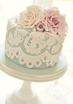 Vintage cake - Wedding Inspirations