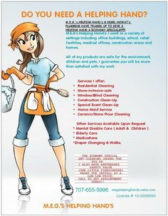31 Best Cleaning Service Flyer Images On Pinterest