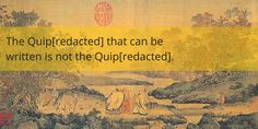 The Quip[redacted] that can be written is not the Quip[redacted]. Name ideas coming soon. #IndieDev