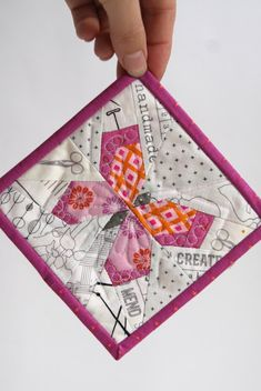 Campbell Soup Diary mini mini quilts