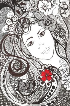 Red Flower by *astraldreamer on deviantART