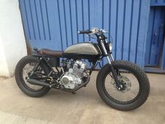 Cafe Racer - Brat Style LFS Cycles Rosario