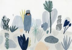 ILLUSTRAZIONE: Lo spazio vuoto di Kate Pugsley - Osso Magazine