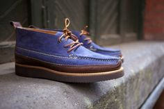 YUKETEN DRESS CHUKKA – D. BLUE