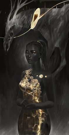 Fantasy & Sci-Fi Art — creaturesfromdreams:   Magali Stone by Junedays