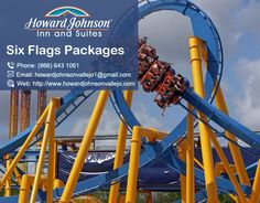 If you are planning a trip with your family, then Howard Johnson offer best for you Six Flags Packages. Visit Us At:-http://bit.ly/2ctBog5