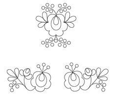 hungarian matyo embroidery pattern