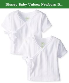 Disney Baby Unisex Newborn Disney Cuddly Wrap Drop Needle 2 Pack Tee, White, 0-3 Months. Drop needle fabrication with vertical ribbed stripes - great for your little boy. Wrap design specifically made with baby's sensitive tummy in mind. Tagless neck label protects baby's delicate skin. Safety stitching on all seams for extra strength; holds its shape, with minimal shrinkage after repeated washings. Disney huggable soft 100% cotton.