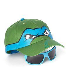 Look what I found on #zulily! Teenage Mutant Ninja Turtles Leo Hat & Sunglasses by Teenage Mutant Ninja Turtles #zulilyfinds
