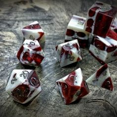 These aren't the dice you are looking for. This post is OLD and has been kept for archival purposes only. You'll find our Gator Jawbone Dice with the rest of our Necromancer's Dic… Tabletop Rpg, Tabletop Games, Louisiana Iris, Pen & Paper, Dungeons And Dragons Dice, Necromancer, Wonderful Things, Goblin, Red Snapper