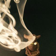 Man! I love my art of smoke! By Aissaree