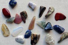 Wrapped Stone Pendant: Polished Stones, Sea Glass or Shells