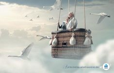 Container and Journey in Advertising - KBC Insurance Advertisement Images, Ads, Insurance Marketing, Ad Of The World, Consumer Behaviour, Brand Story, Life Is A Journey, New Leaf, Live Long