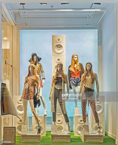 New Look - London Windows Display 2015 as Part of the World Fashion Window Displays on May 21, 2015 in London, England.