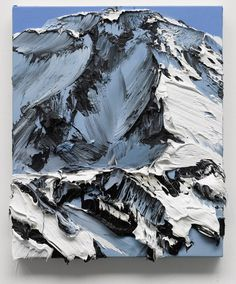 Powerful paint strokes capture the essence of mountains in these gorgeous artworks by Swiss painter Conrad Jon Godly Conrad Jon Godly, Paint Strokes, Mountain Paintings, Oil Painting Abstract, Painting Art, Painting Inspiration, Landscape Paintings, Canvas Wall Art, Cool Art