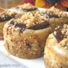 Peanut Butter-Finger Mini Cheesecakes