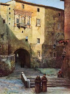 Arco dei Borgia - Ettore Roesler Franz