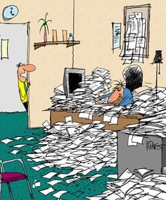 George! You're a major roadblock on the path to a paperless society.