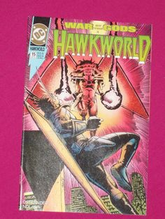 Hawkworld #15 DC Comics 1991 NM, Hawkwoman Key..1st App of Celae   eBay
