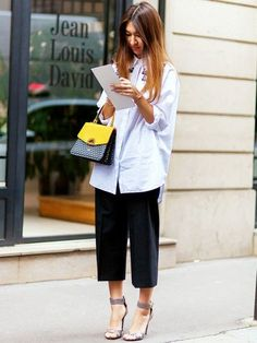 23 Outfit ideas from top bloggers and streetstyle stars that prove you need a white shirt  With the bewildering sea of trends every season, from styles you can't tell apart from another, to those you