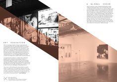MOCCA Brochure by Avarie Graham, via Behance