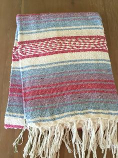 These super cool traditional Mexican blankets are great for going to the beach, as a picnic mat, yoga or pilates mat, or a home accent piece. They make a great bridal shower or housewarming gift! Ever