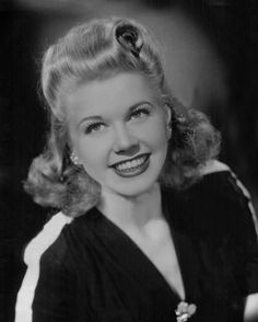 Doris Day, actress,singer. Always a great smile.