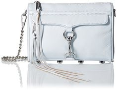 Rebecca Minkoff Mini Mac Cross Body, Bleached Blue, One Size *** This is an Amazon Associate's Pin. Details on product can be viewed on Amazon website by clicking the VISIT button
