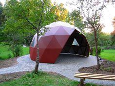 Summerhouse. Dome Society, Latvia.