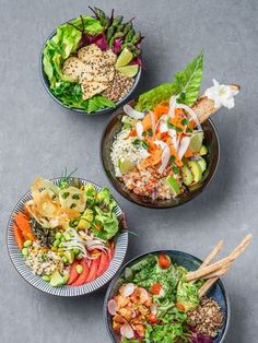 Le Poke bowl, le plat venu d'Hawaii auquel vous n'échapperez pas – ThePins Poke Bowl, Healthy Cooking, Healthy Eating, Healthy Recipes, Stop Eating, Clean Eating, Good Food, Yummy Food, Asian Recipes
