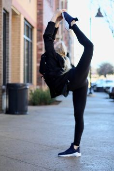 Athleisure Wear and dancer pose
