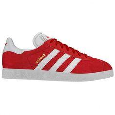 9e3f9478c6a Zapatillas Gazelle Roja Para Hombre de Adidas Original