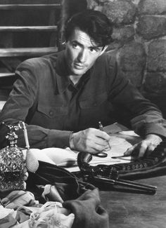 DAYS OF GLORY - Gregory Peck - 20th Century-Fox - Publicity Still.