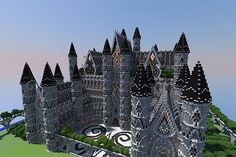 Minecraft build: Server spawn (By fjssk) Minecraft Project