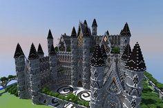 Minecraft build: Server spawn (By fjssk) Minecraft Project