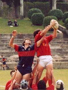 Rugby - igra s linije auta