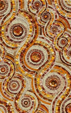 Ganges Karma Mosaic by Sue Kershaw