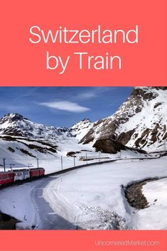 Switzerland by train on a mother-daughter trip. Includes travel tips to create your own Swiss train adventure.