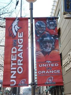 Denver cheers on The Broncos