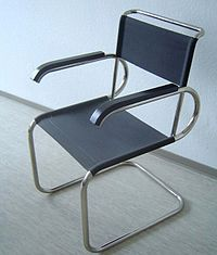 Chaise Wassily Marcel Breuer 1925 Canvas Not Leather