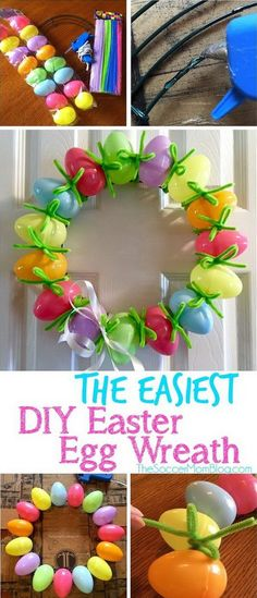 41 Beautiful Spring And Easter Wreath Ideas With Lots Of Tutorials
