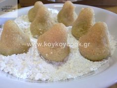 Greek Recipes, Dessert Recipes, Desserts, Food And Drink, Butter, Sweets, Sugar, Cheese, Traditional