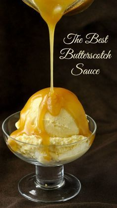 Best Butterscotch Sauce The Best Butterscotch Sauce Recipe is one that keeps it simple; both in the ingredients and in the instructions.The Best Butterscotch Sauce Recipe is one that keeps it simple; both in the ingredients and in the instructions. Homemade Syrup, Homemade Sauce, Homemade Chocolate Sauce, Dessert Sauces, Dessert Recipes, Delicious Desserts, Butterscotch Sauce Recipes, Butterscotch Ice Cream, Fast Recipes