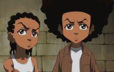 Aaron McGruder Creates New 'Boondocks' Strips for Black History Month Boondocks Comic, Boondocks Drawings, Boondocks Characters, Aaron Mcgruder, Charlamagne Tha God, Black Cartoon, Old Shows, Black History Month, Animation Series