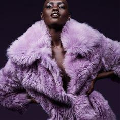 Grace Bol for Tom Ford Pre-Autumn/Winter 2017 Purple Snake, Purple Lilac, Purple Rain, Shades Of Purple, Lavender Aesthetic, Purple Aesthetic, Rihanna, Mauve, Thing 1