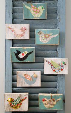 Button Bird Art